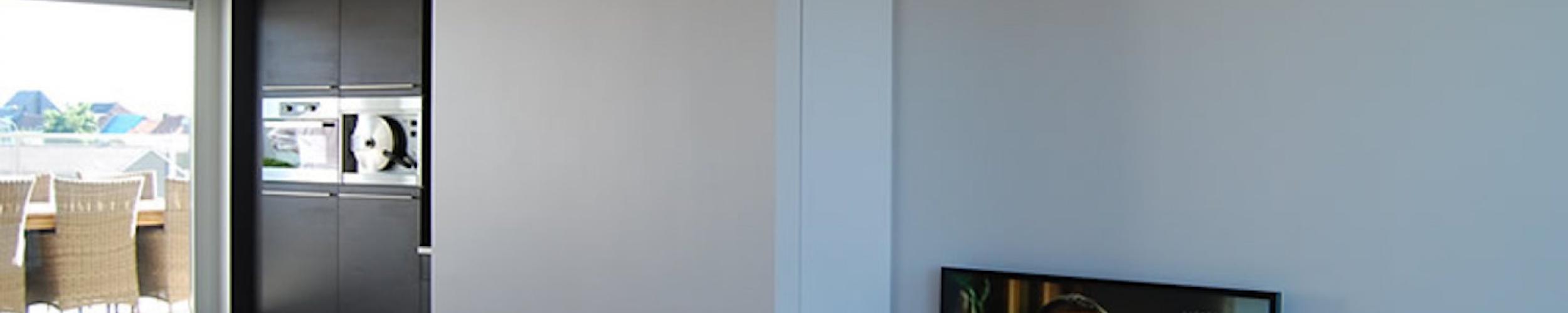 Binnenschilderwerken van appartement