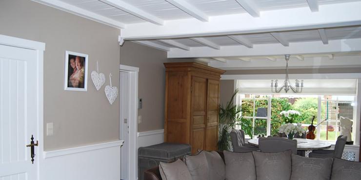 Binnenschilderwerken woning in cottage stijl