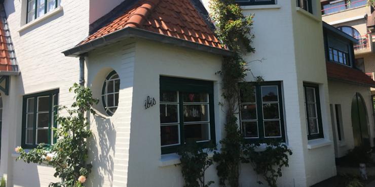 Schilderen buitengevel villa te Nieuwpoort